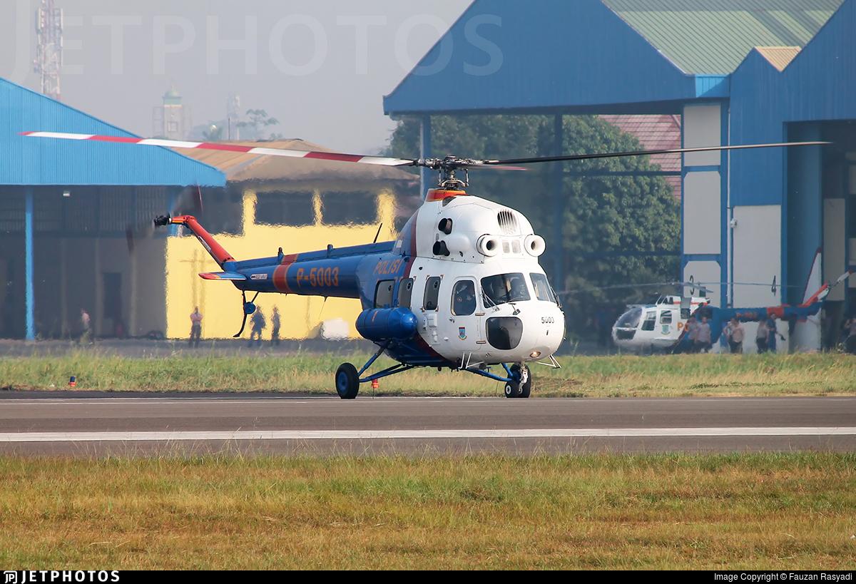 P-5003 - PZL-Swidnik Mi-2 Plus - Indonesia - Police