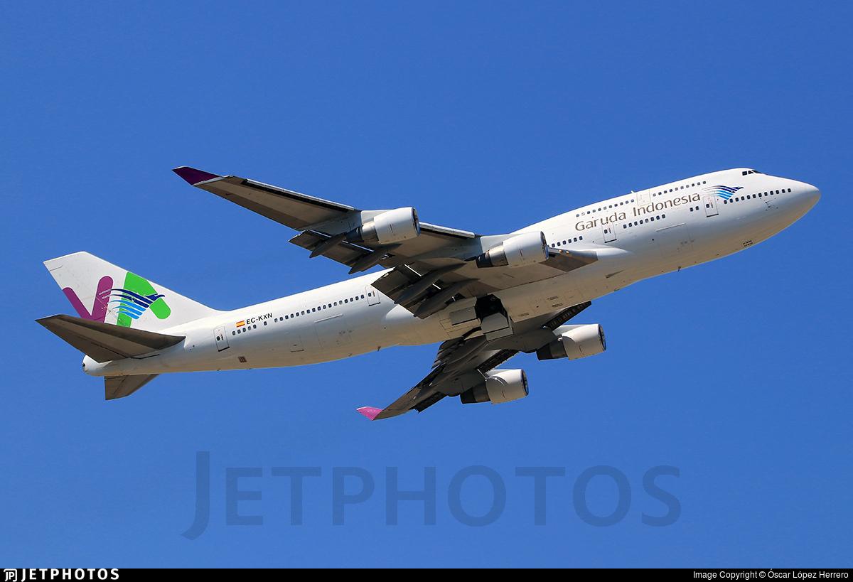 EC-KXN - Boeing 747-4H6 - Garuda Indonesia (Wamos Air)