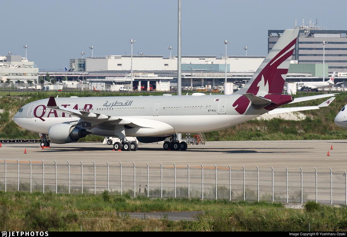 A7-HJJ - Airbus A330-202 - Qatar - Amiri Flight
