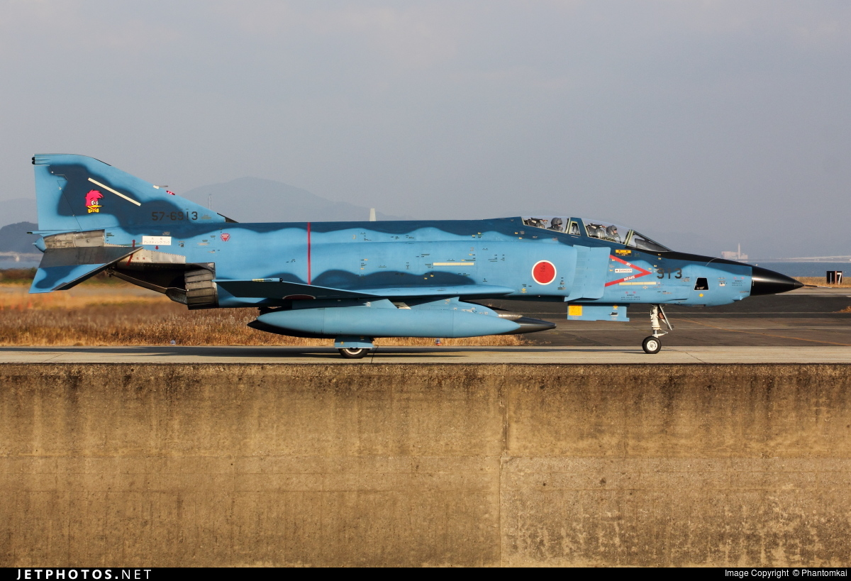57-6913 - McDonnell Douglas RF-4E Phantom II - Japan - Air Self Defence Force (JASDF)