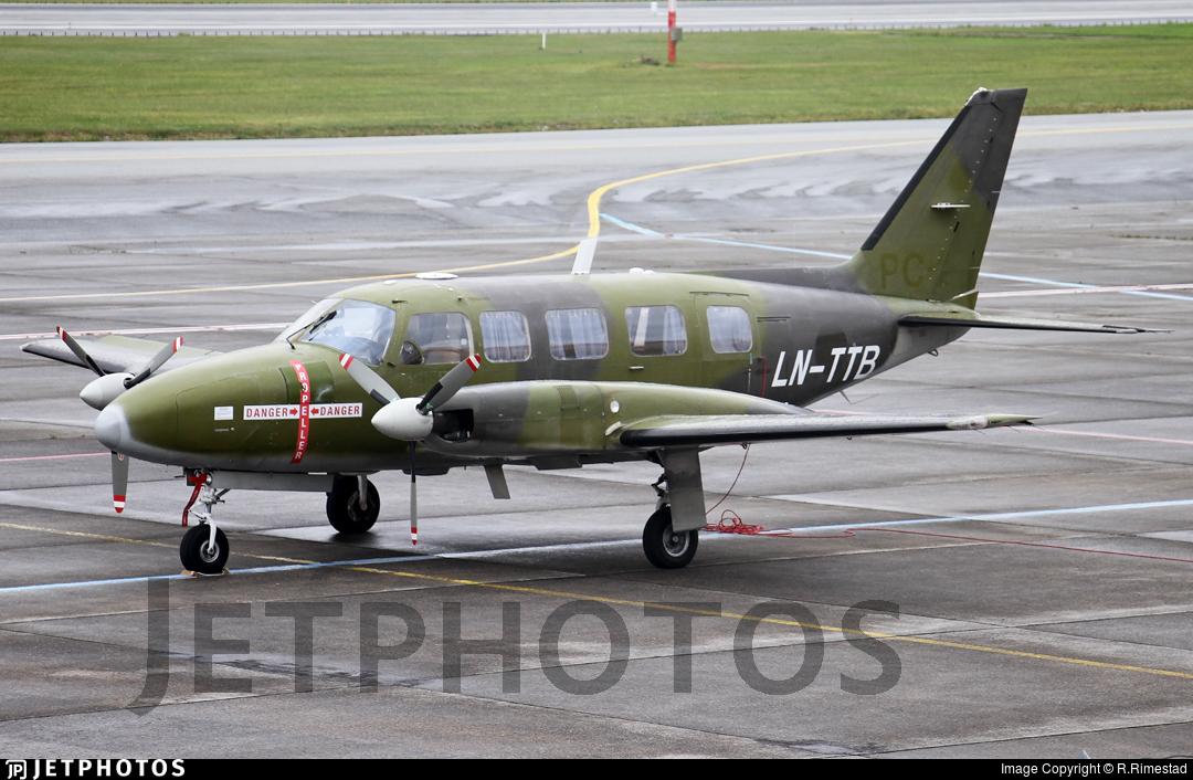 LN-TTB - Piper PA-31-350 Chieftain - Blom Geomatics