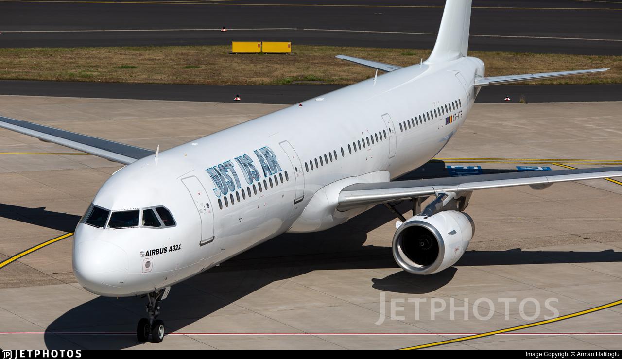 YR-NTS - Airbus A321-231 - Just Us Air