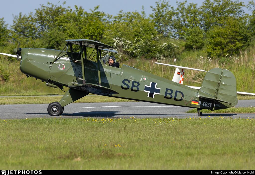 D-EGSY - Bücker Jungmann CASA 1131 E - Private