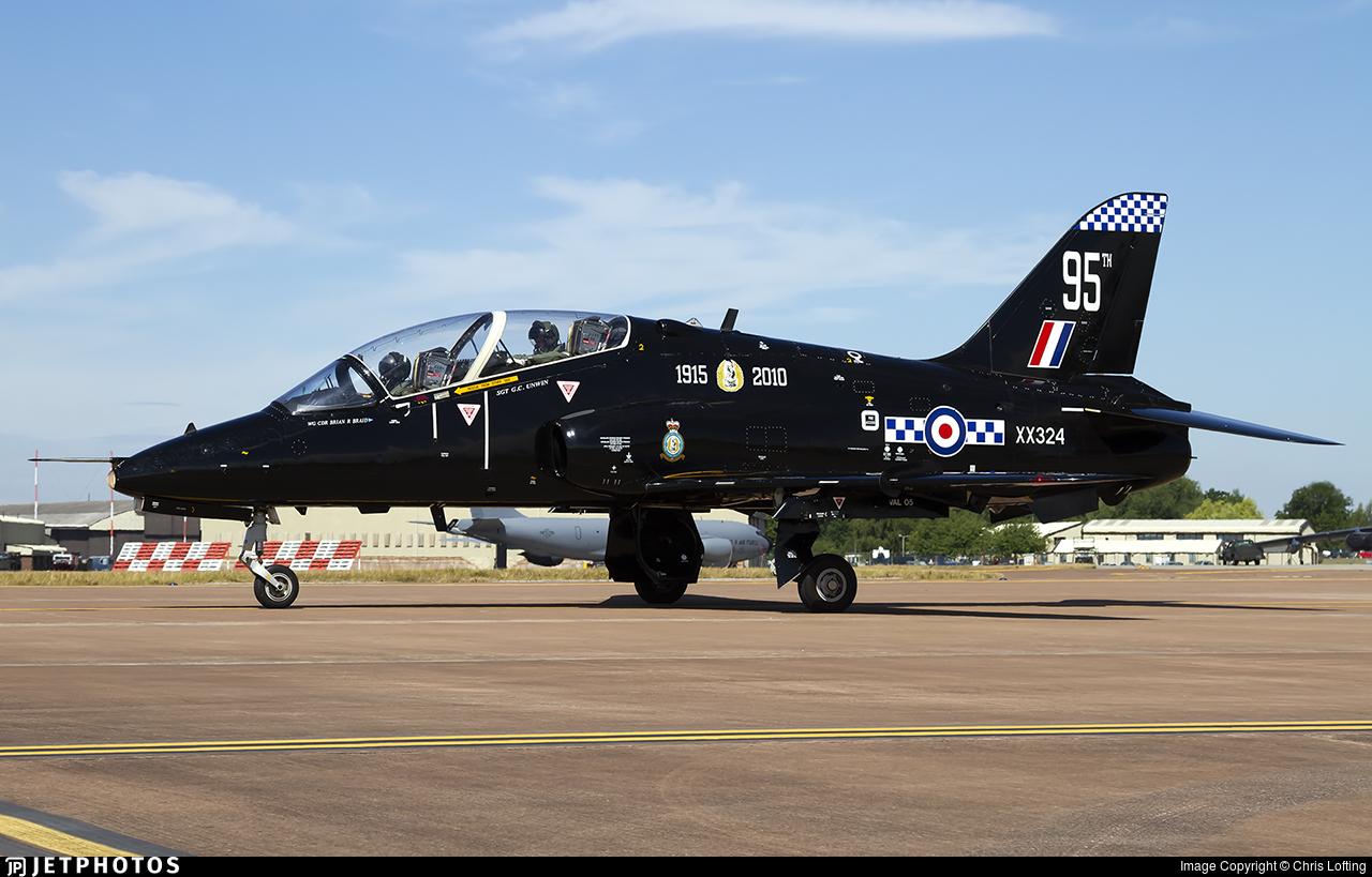 XX324 - British Aerospace Hawk T.1A - United Kingdom - Royal Air Force (RAF)