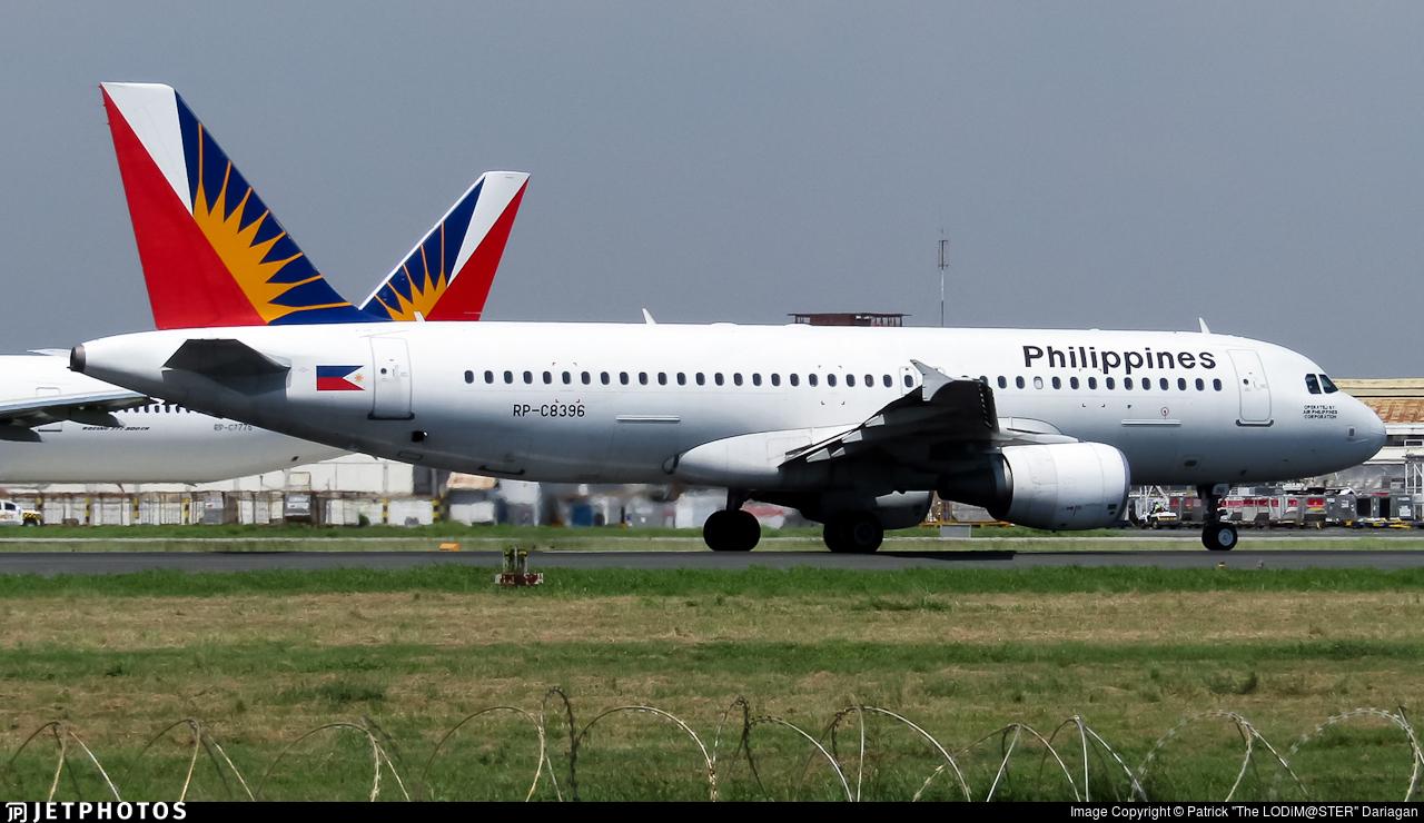 RP-C8396 - Airbus A320-214 - PAL Express