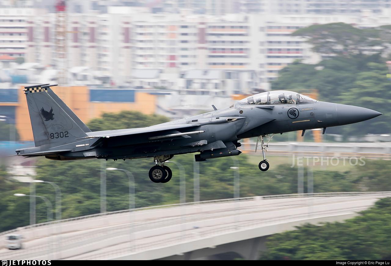 8302 - Boeing F-15SG Strike Eagle - Singapore - Air Force