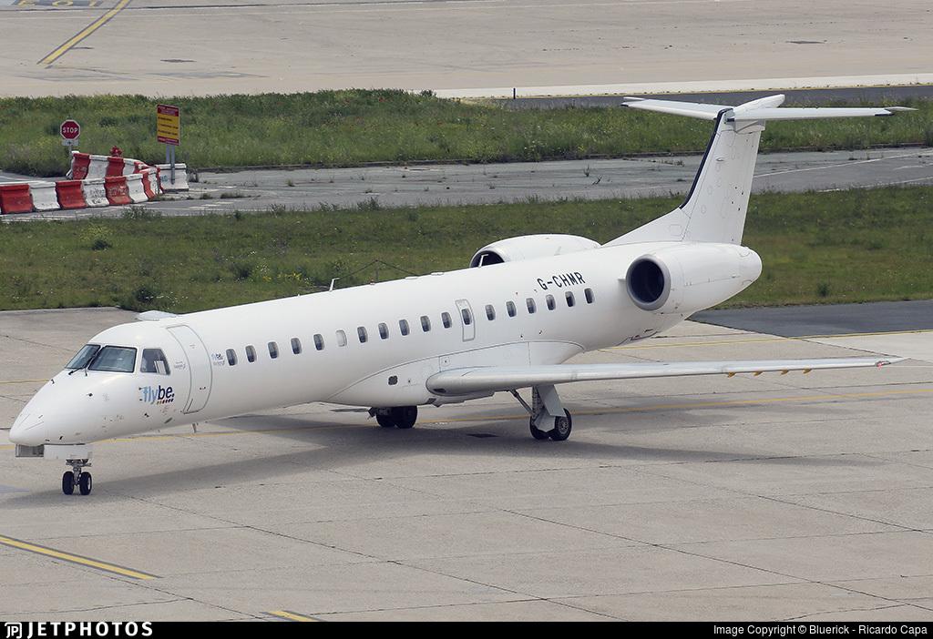 G-CHMR - Embraer ERJ-145MP - Flybe (Eastern Airways)