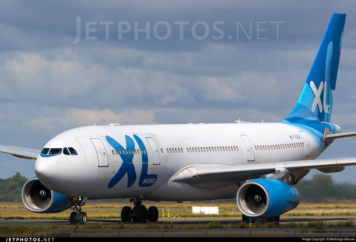 F gseu airbus a330 243 xl airways france medolago for Airbus a330 xl airways interieur
