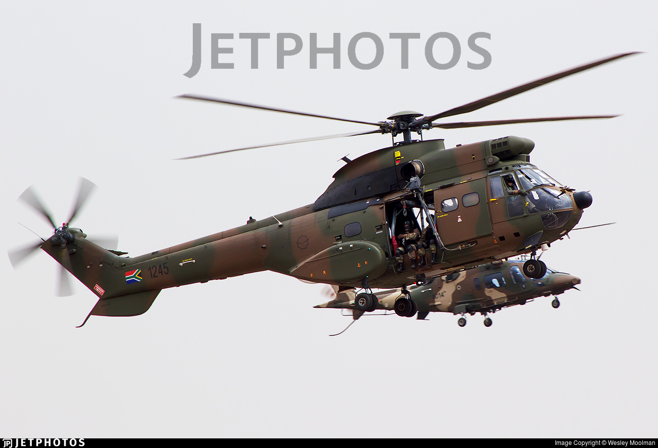 1245 - Atlas TP-1 Oryx - South Africa - Air Force