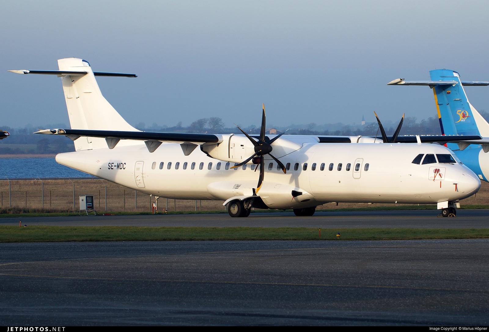 SE-MDC - ATR 72-212A(500) - Golden Air