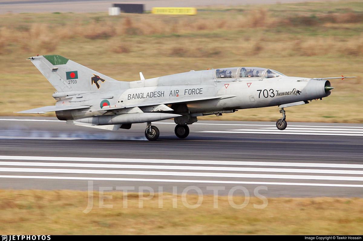 2703 - Chengdu FT-7BGI - Bangladesh - Air Force