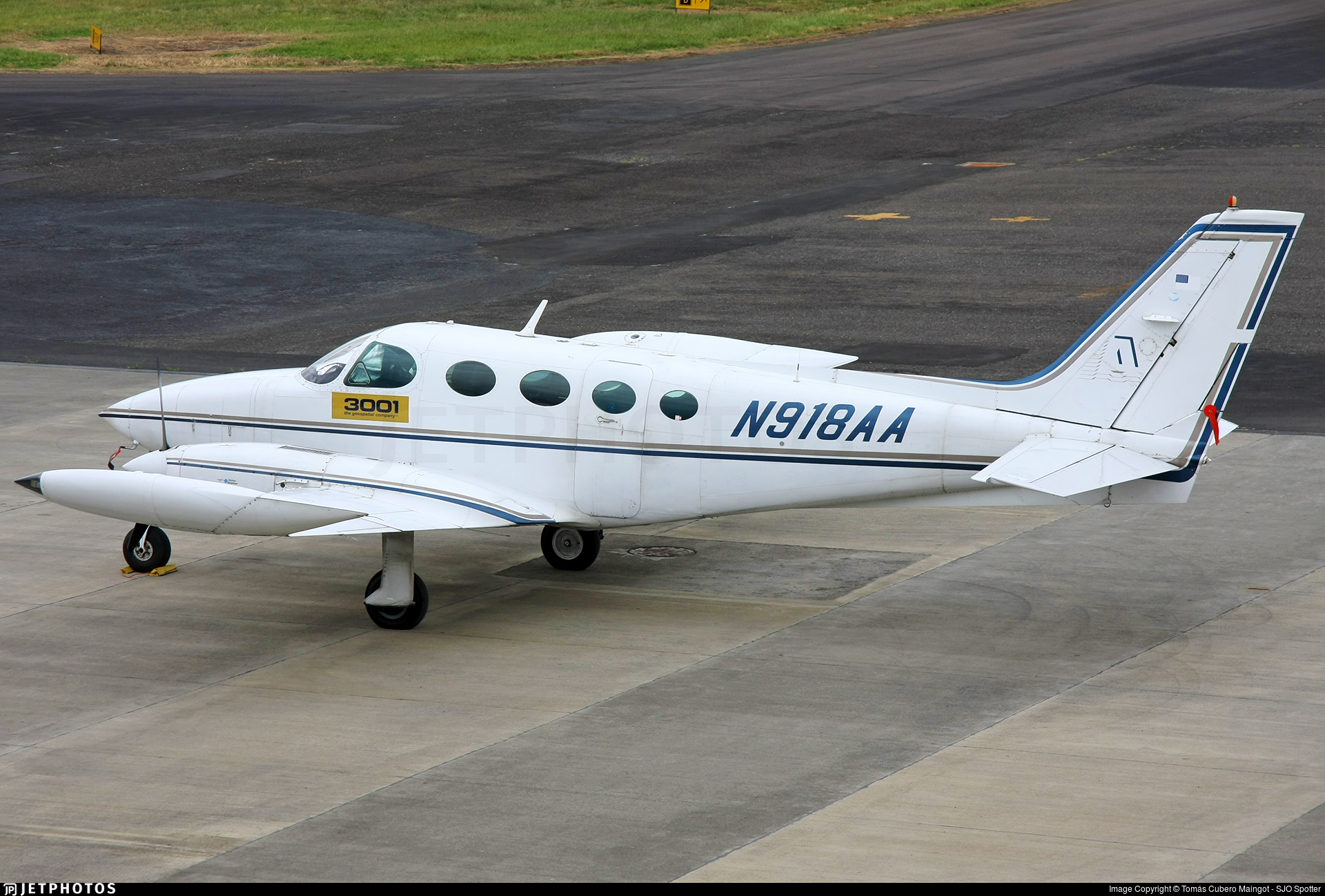 N918AA - Cessna 335 - Private