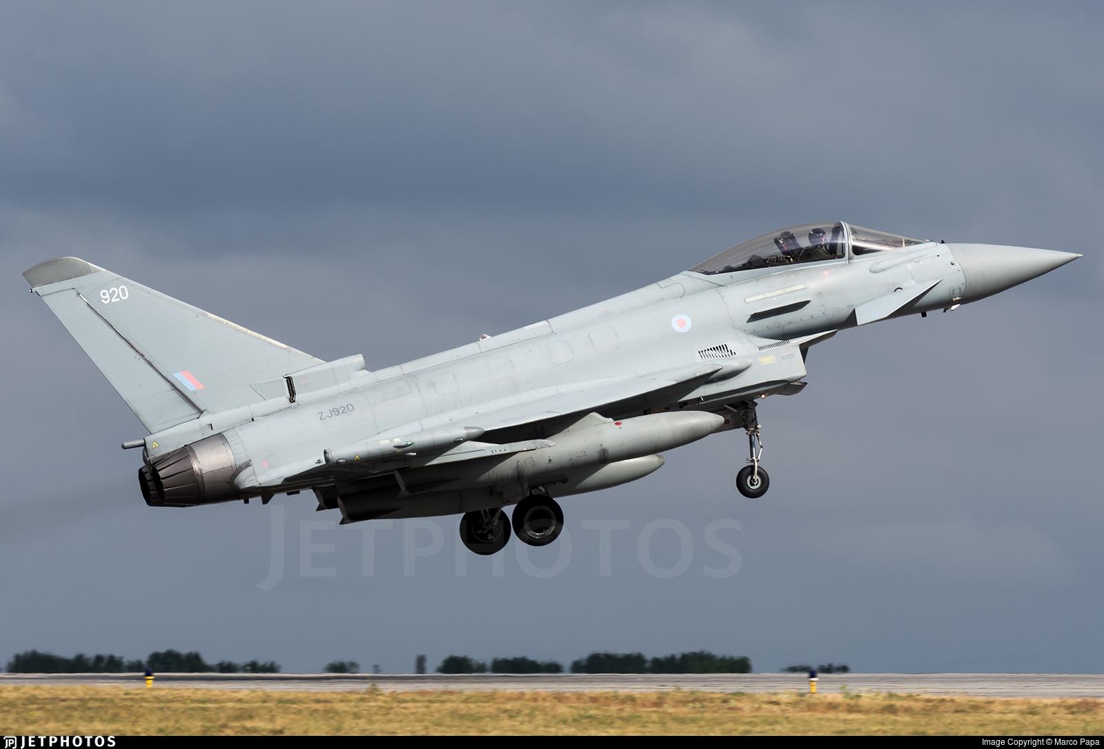 ZJ920 - Eurofighter Typhoon FGR.4 - United Kingdom - Royal Air Force (RAF)