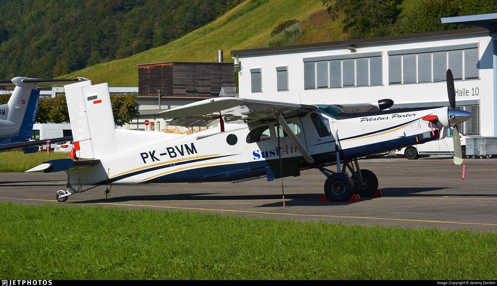 PK-BVM - Pilatus PC-6/B2-H4 Turbo Porter - Susi Air