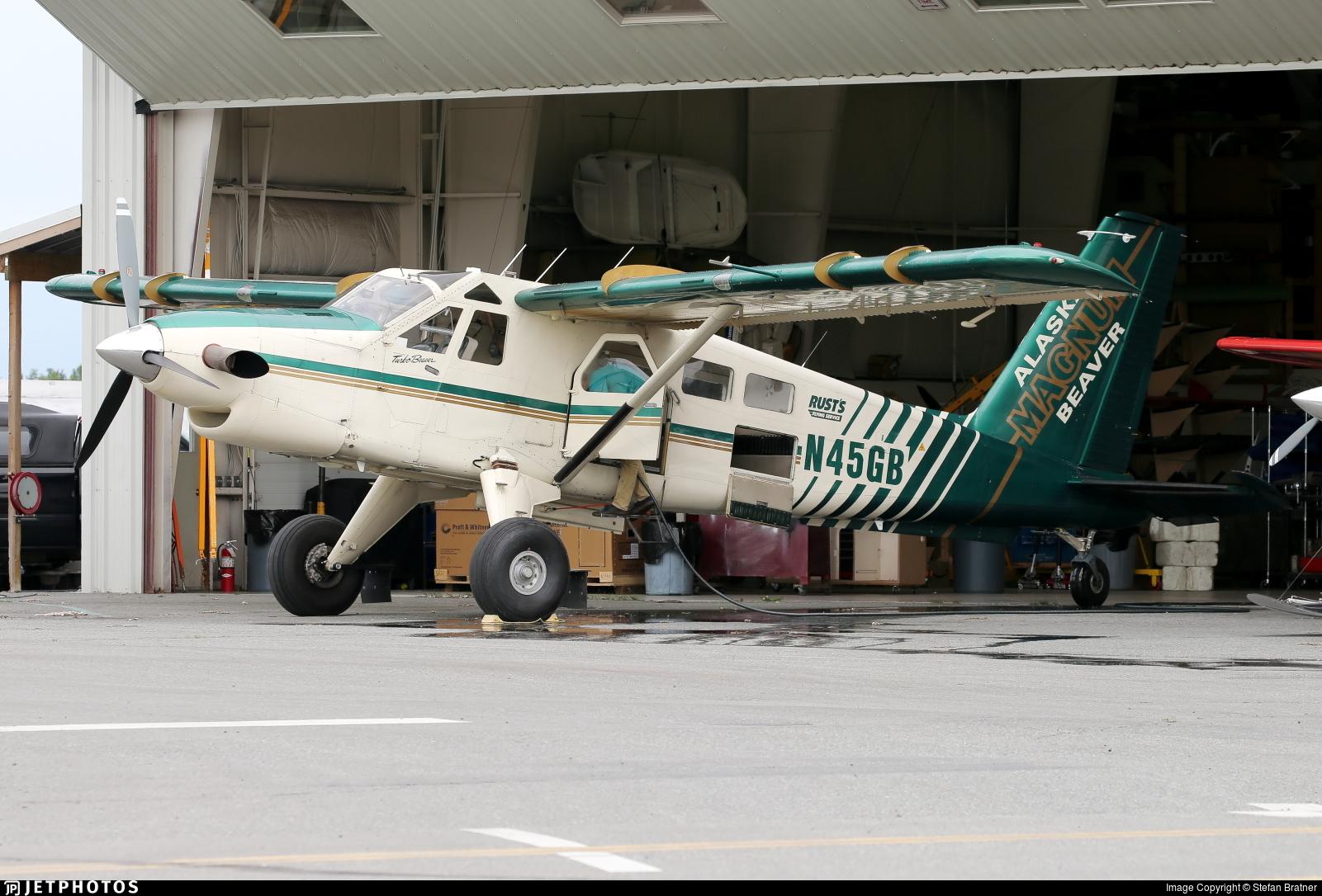 N45GB - De Havilland Canada DHC-2 Mk.III Turbo-Beaver - Katmai Air