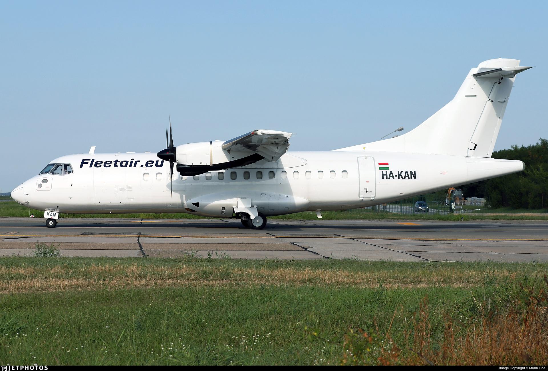 HA-KAN - ATR 42-320(F) - Fleet Air International