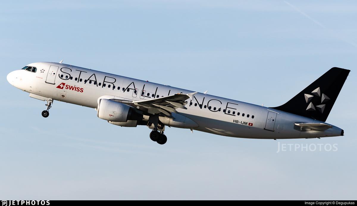 HB-IJM - Airbus A320-214 - Swiss