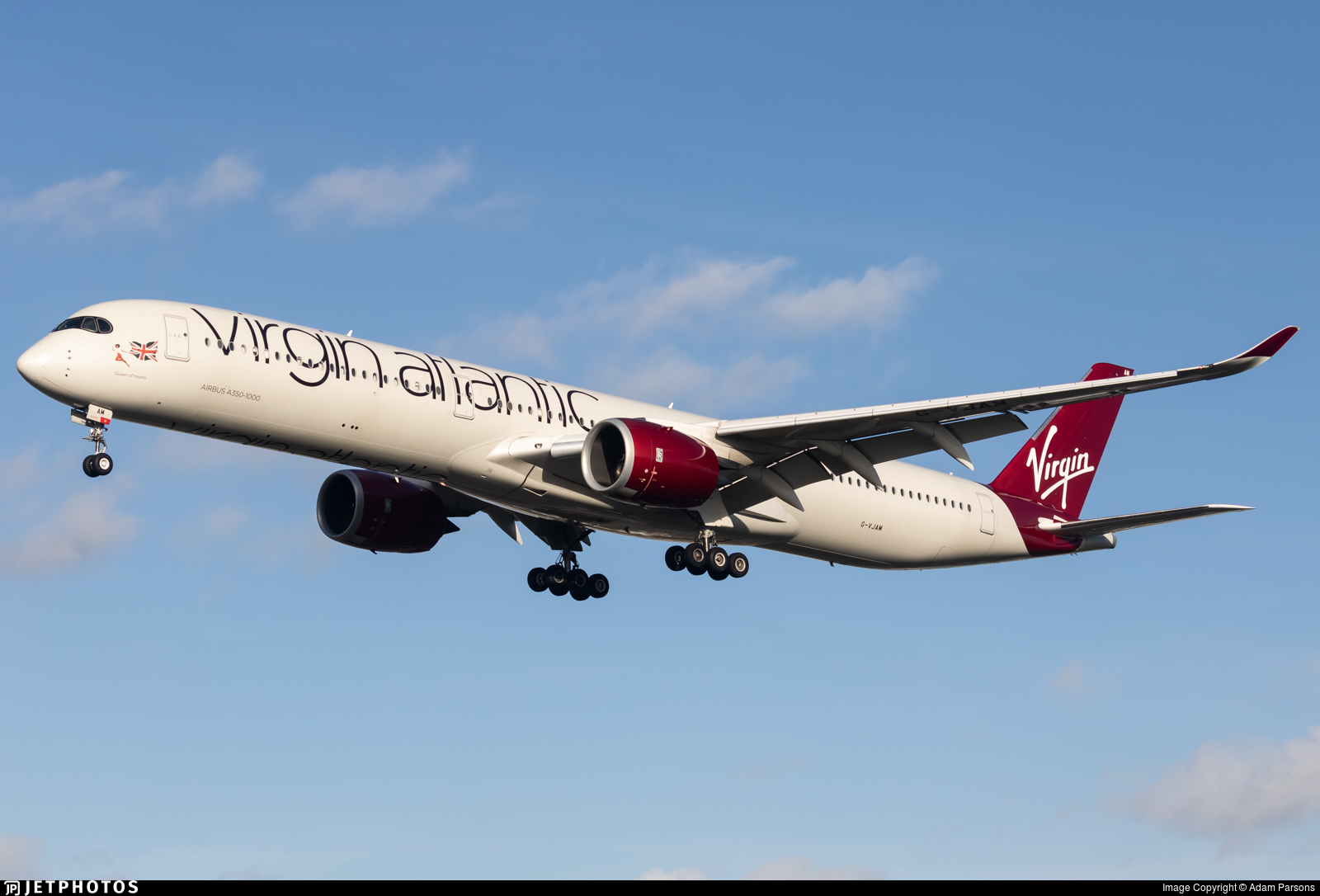 G-VJAM - Airbus A350-1041 - Virgin Atlantic Airways