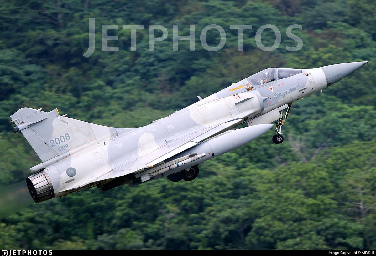 2008 - Dassault Mirage 2000-5EI - Taiwan - Air Force