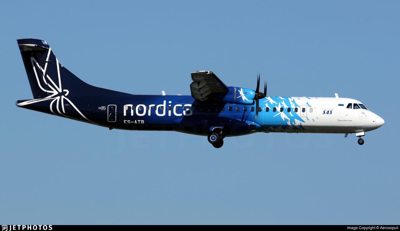 ES-ATB - ATR 72-212A(600) - Nordica