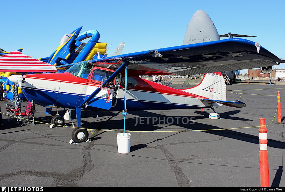 N5726C - Cessna 170A - Private