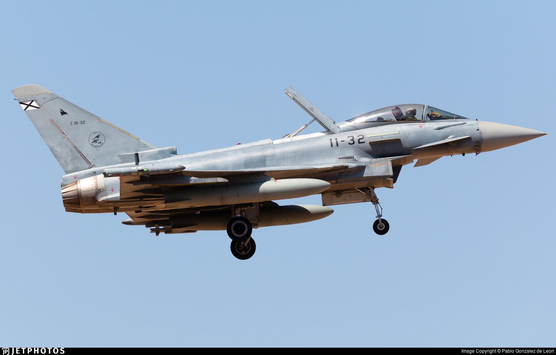 C.16-32 - Eurofighter Typhoon EF2000 - Spain - Air Force