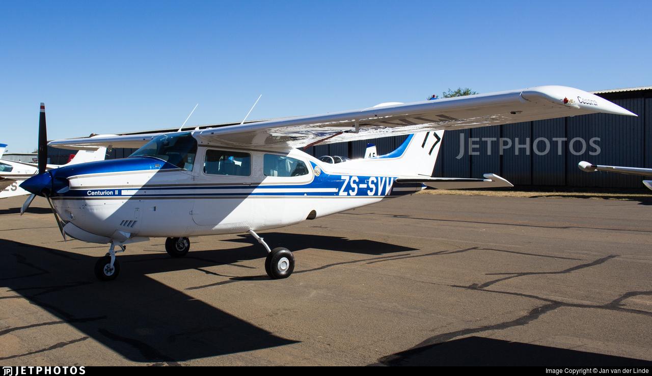 ZS-SVW - Cessna T210L Turbo Centurion II - Private