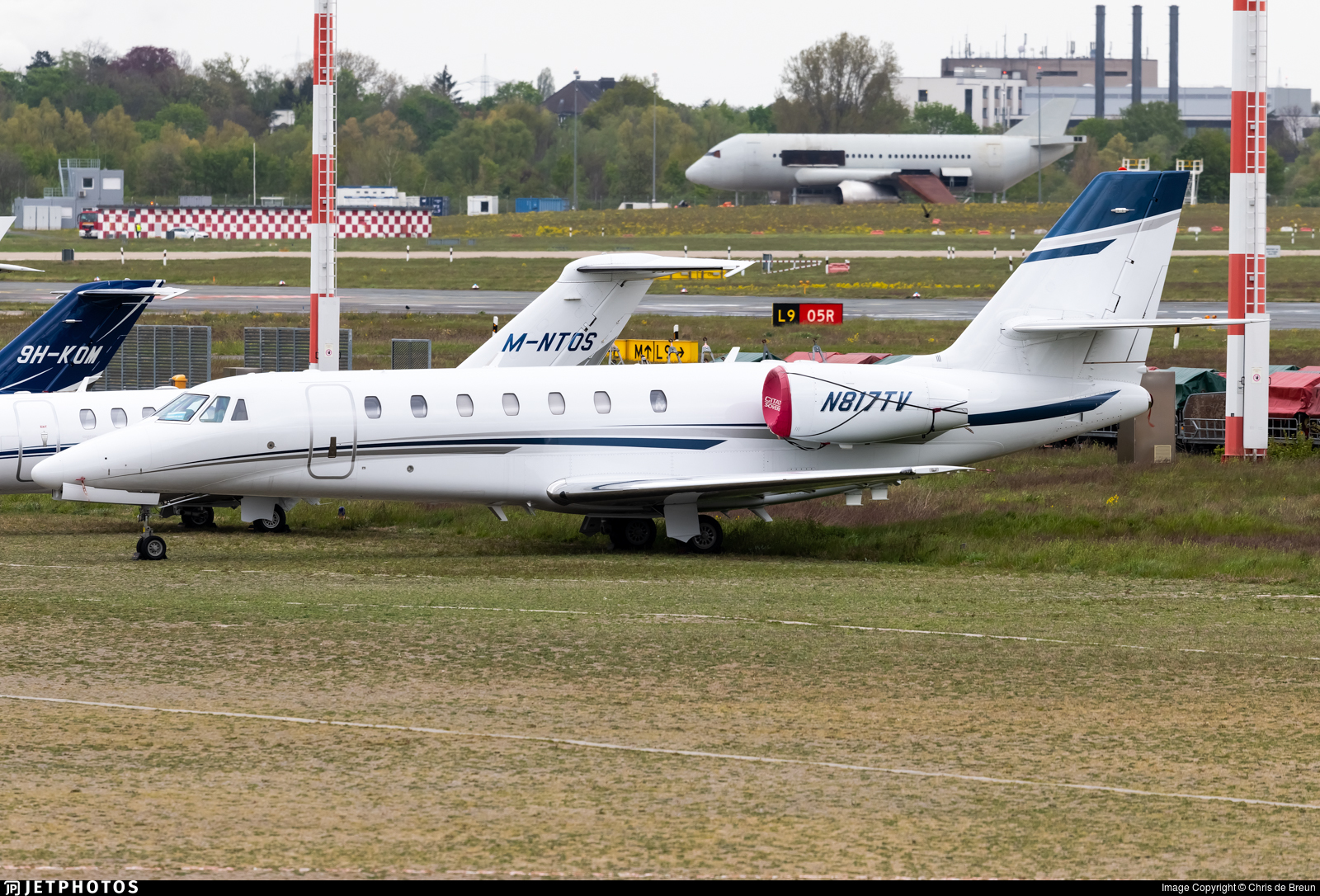 N817TV - Cessna 680 Citation Sovereign - Private