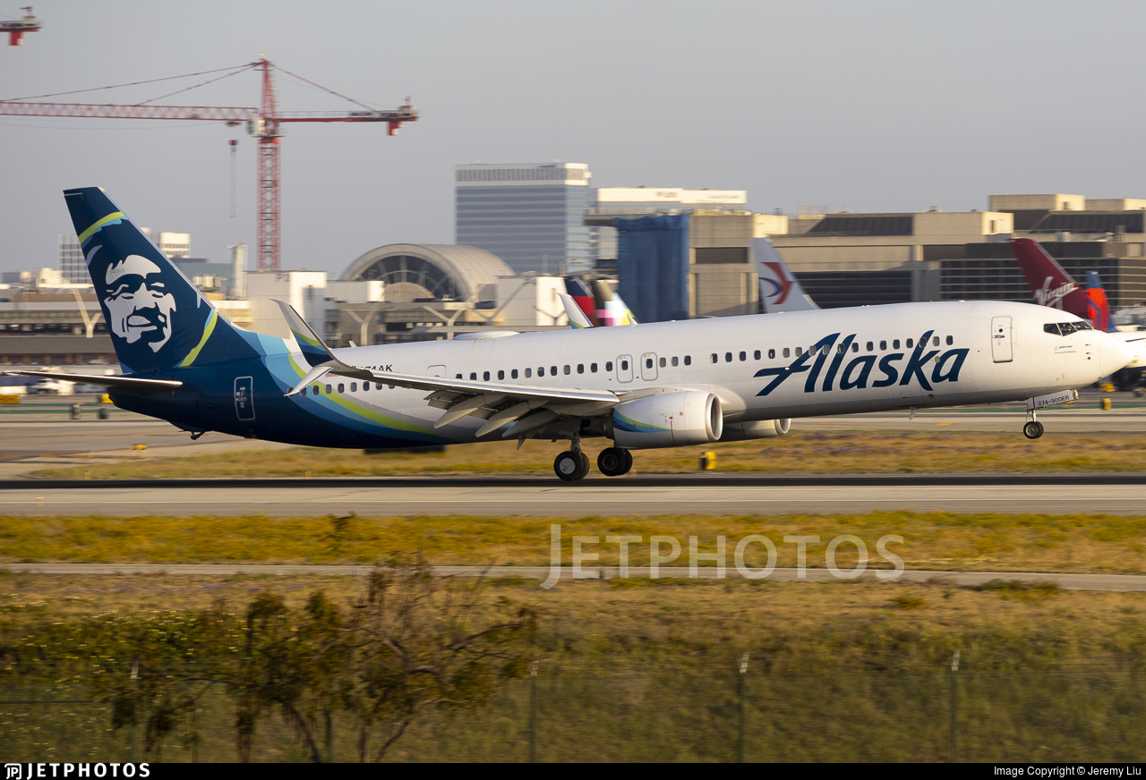 N274AK - Boeing 737-990ER - Alaska Airlines