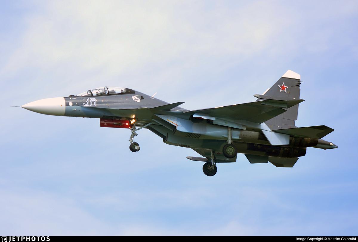 38 - Sukhoi Su-30SM - Russia - Navy