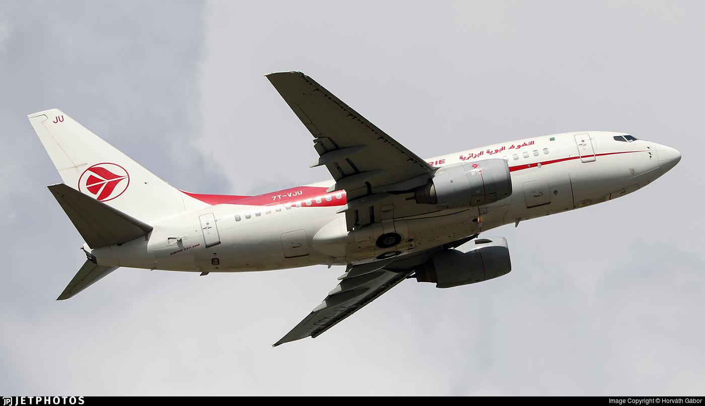 7T-VJU - Boeing 737-6D6 - Air Algérie