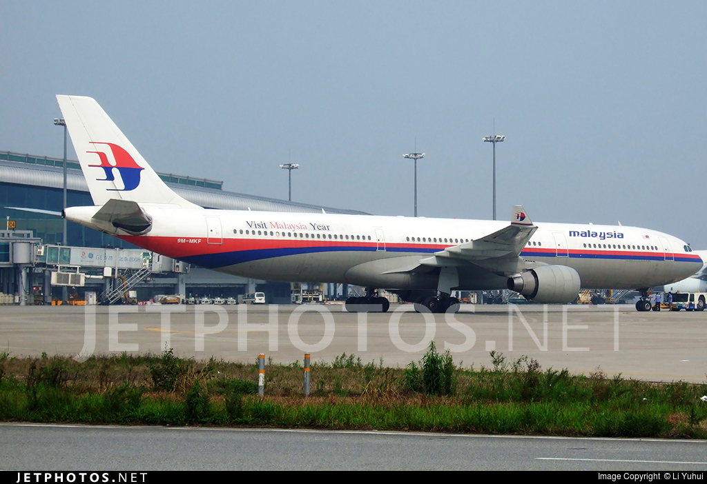9M-MKF - Airbus A330-322 - Malaysia Airlines