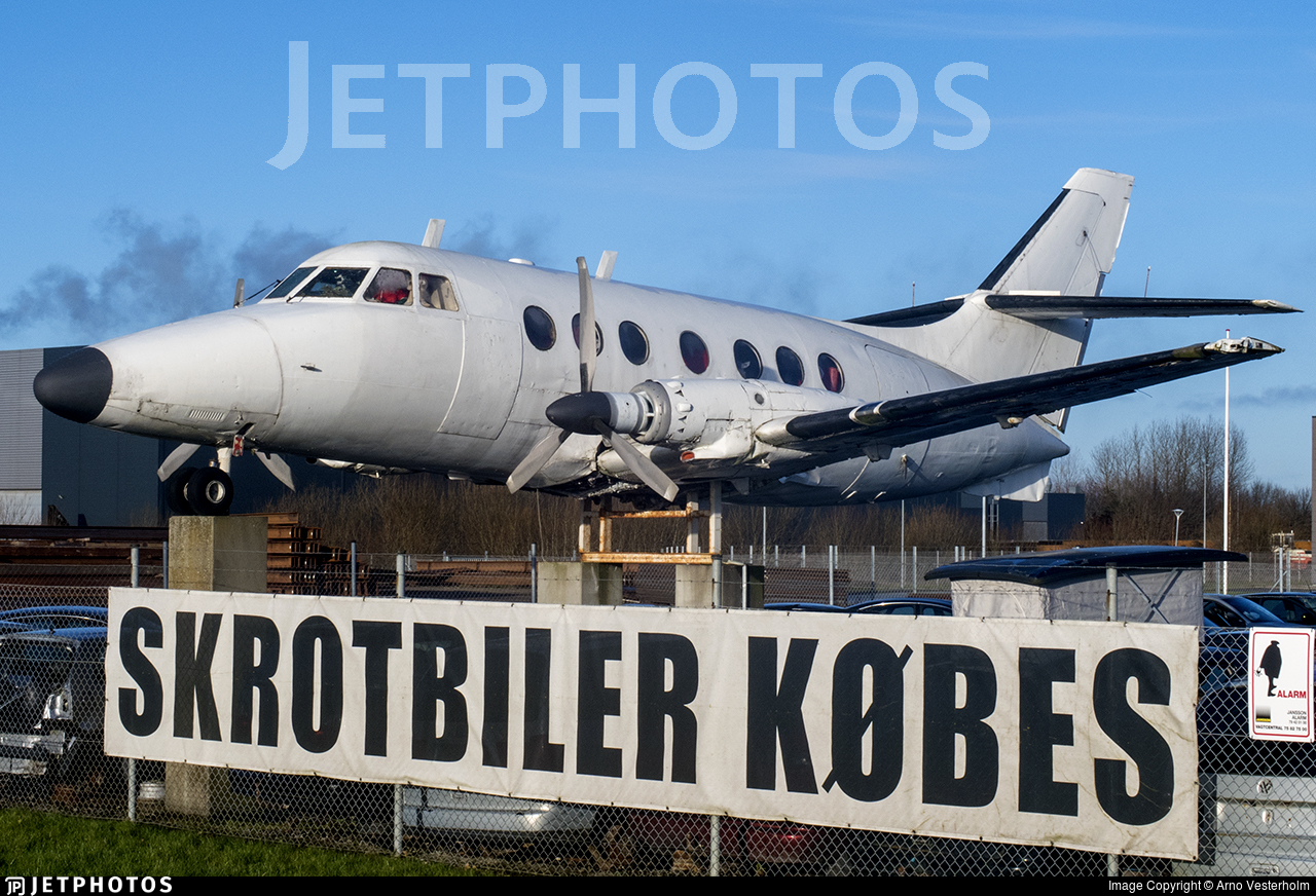 OY-CRR - Handley Page Jetstream HP 137 - Private