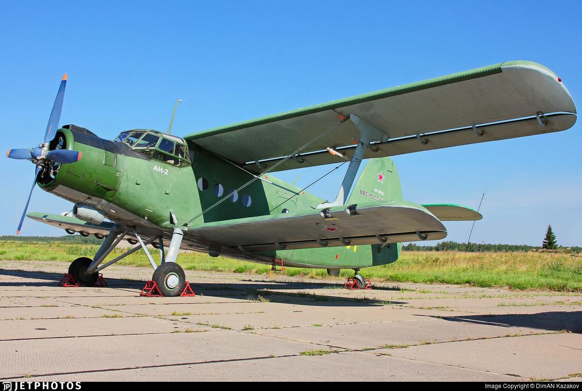RF-90521 - PZL-Mielec An-2T - Russia - Air Force