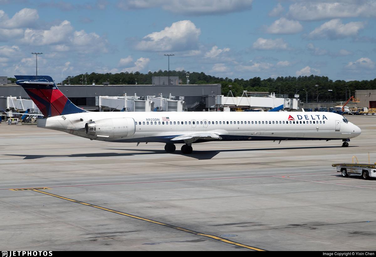 N925DN - McDonnell Douglas MD-90-30 - Delta Air Lines