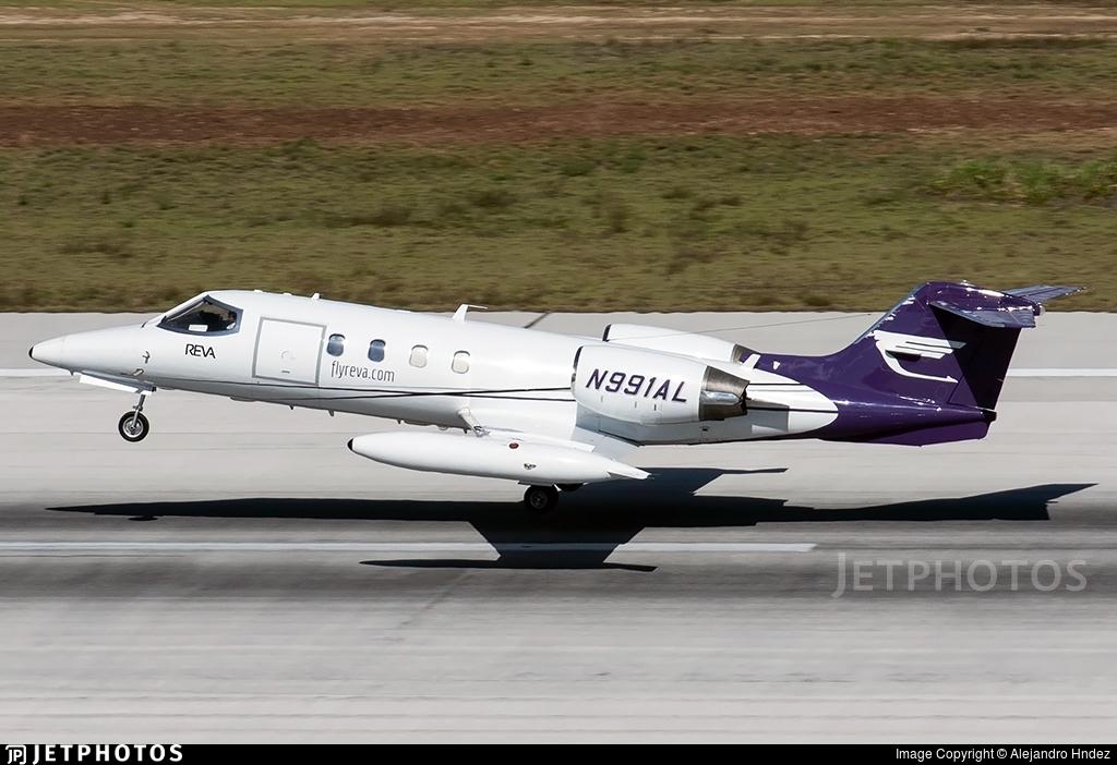 N991AL - Gates Learjet 35A - REVA Air Ambulance