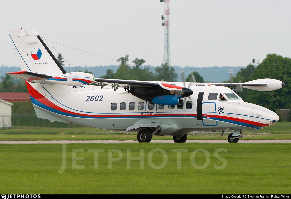 2602 - Let L-410UVP-E Turbolet - Czech Republic - Air Force