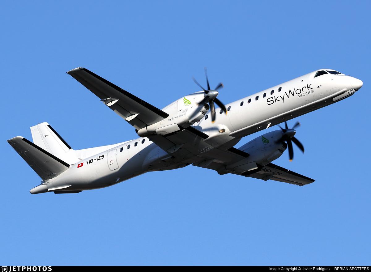HB-IZS - Saab 2000 - Sky Work Airlines