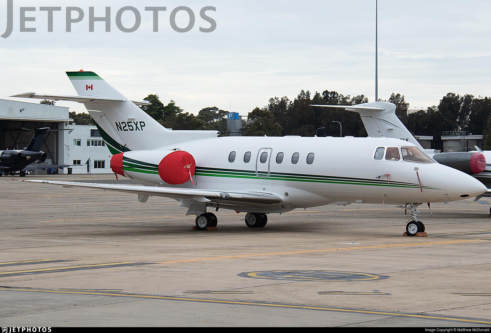 N25XP - Raytheon Hawker 800XP - Private