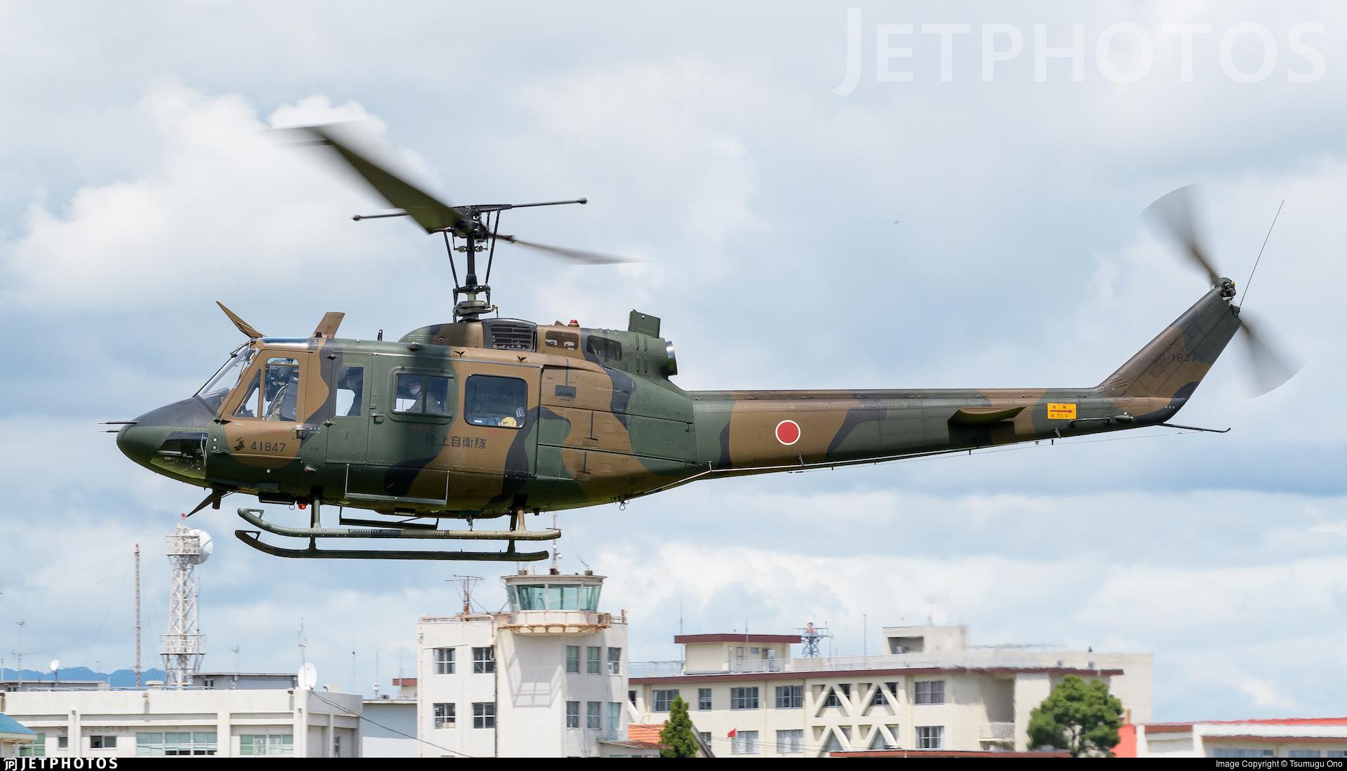 41847 - Bell UH-1J Iroquois - Japan - Ground Self Defence Force (JGSDF)