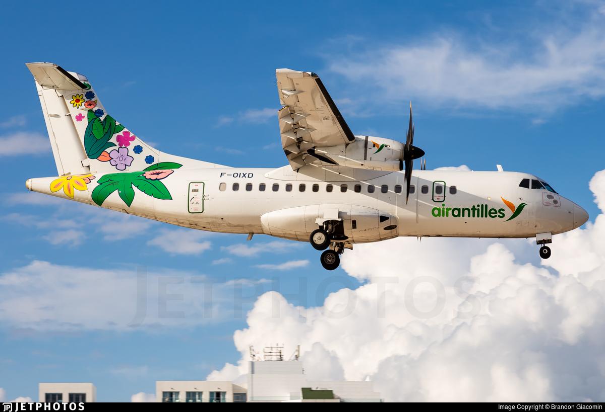 F-OIXD - ATR 42-500 - Air Antilles Express