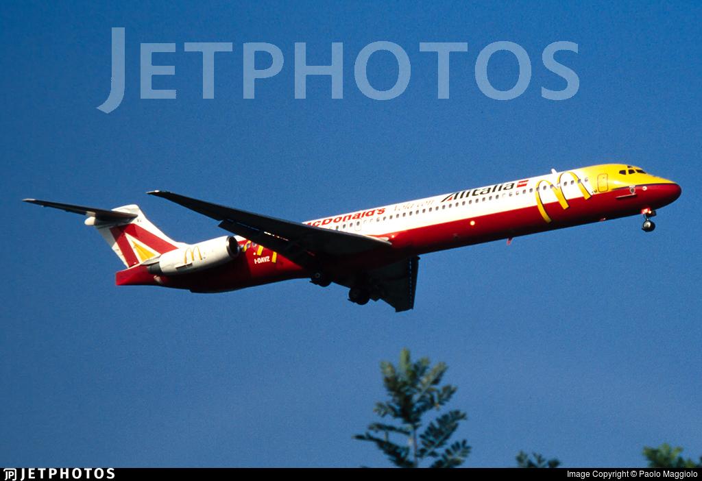I-DAVZ - McDonnell Douglas MD-82 - Alitalia