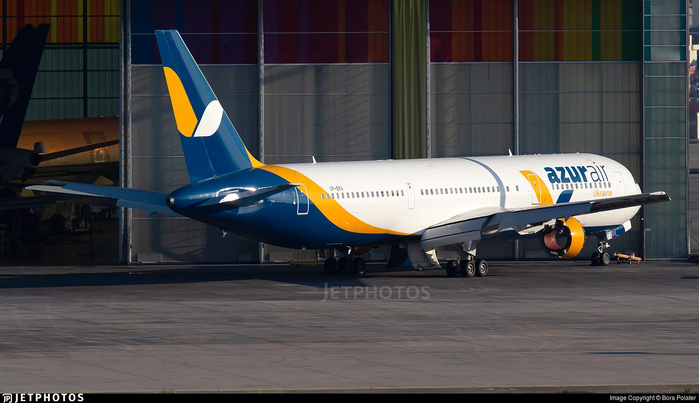 VP-BRA - Boeing 767-33A(ER) - Azur Air Ukraine