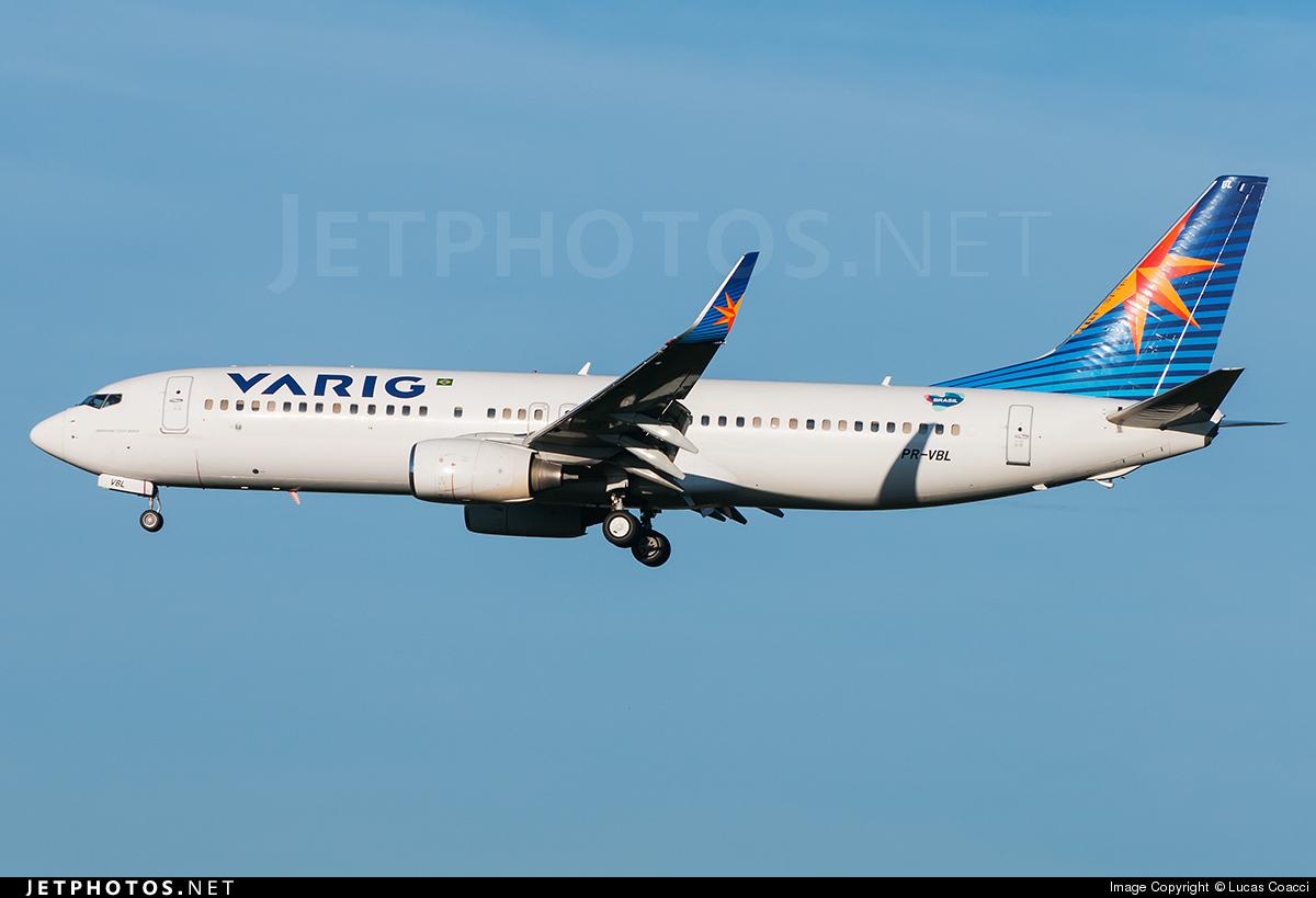 PR-VBL - Boeing 737-8EH - Varig