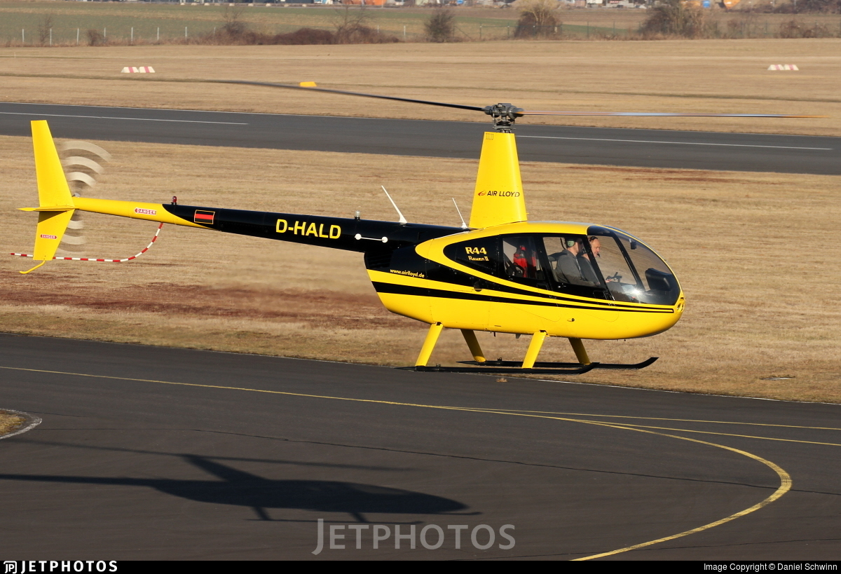 D-HALD - Robinson R44 Raven II - Air Lloyd