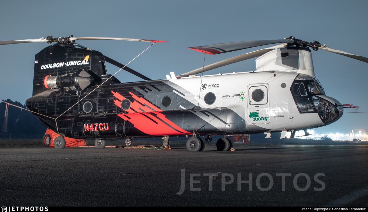 N47CU - Boeing CH-47D Chinook - Coulson Flying Tankers