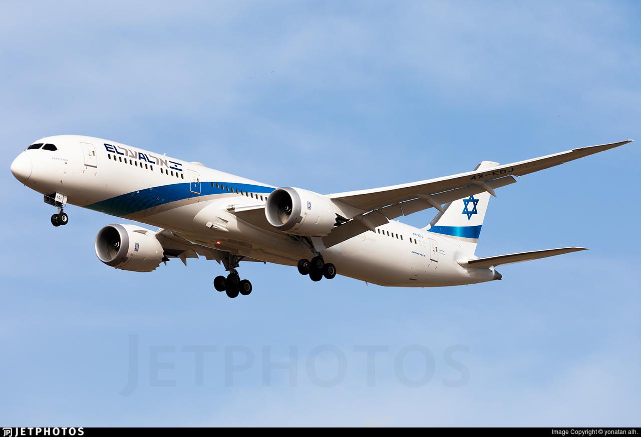 4X-EDJ - Boeing 787-9 Dreamliner - El Al Israel Airlines