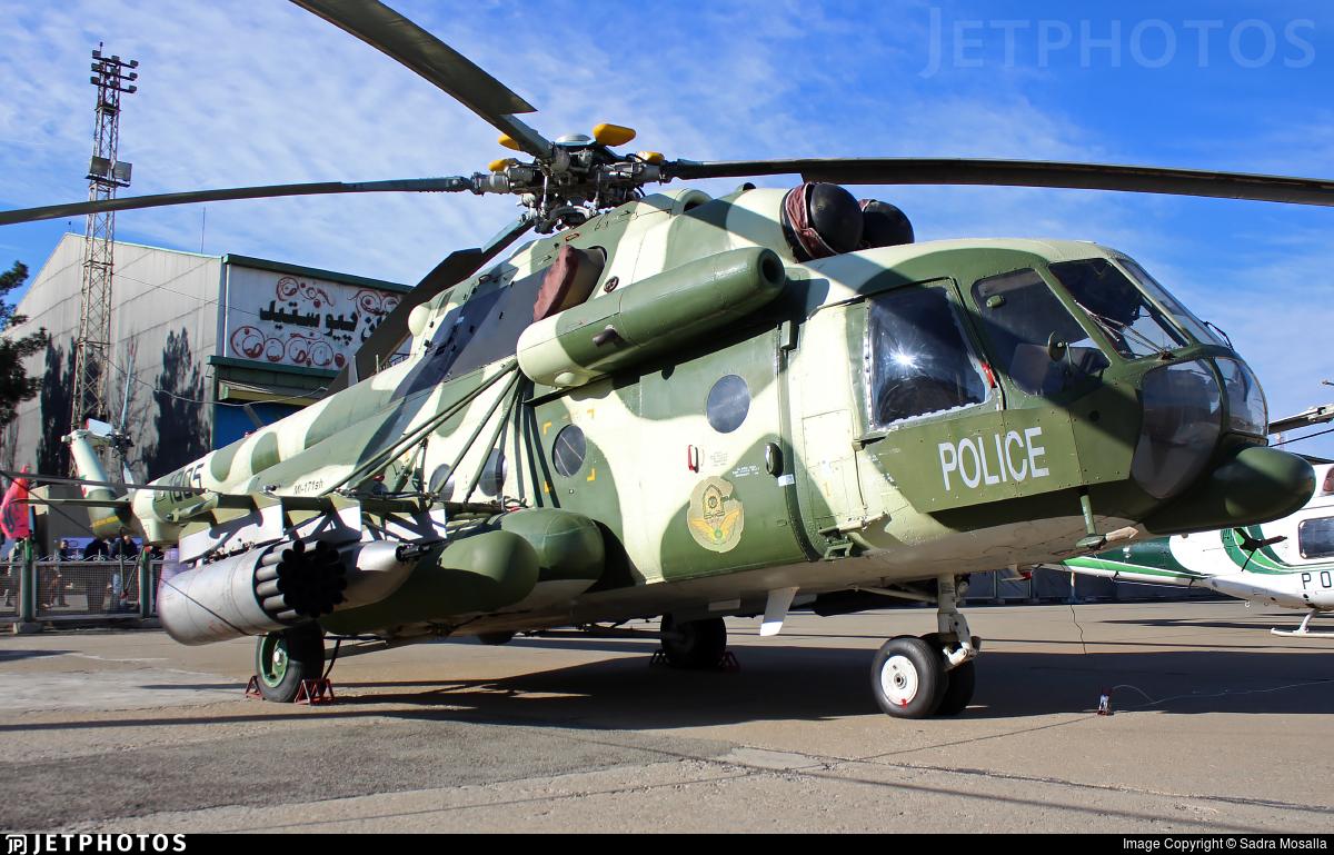1805 - Mil Mi-171Sh Baikal - Iran - Police Aviation