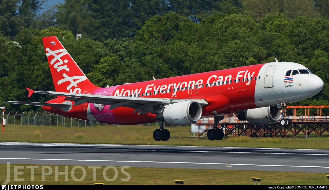 HS-ABK - Airbus A320-216 - Thai AirAsia