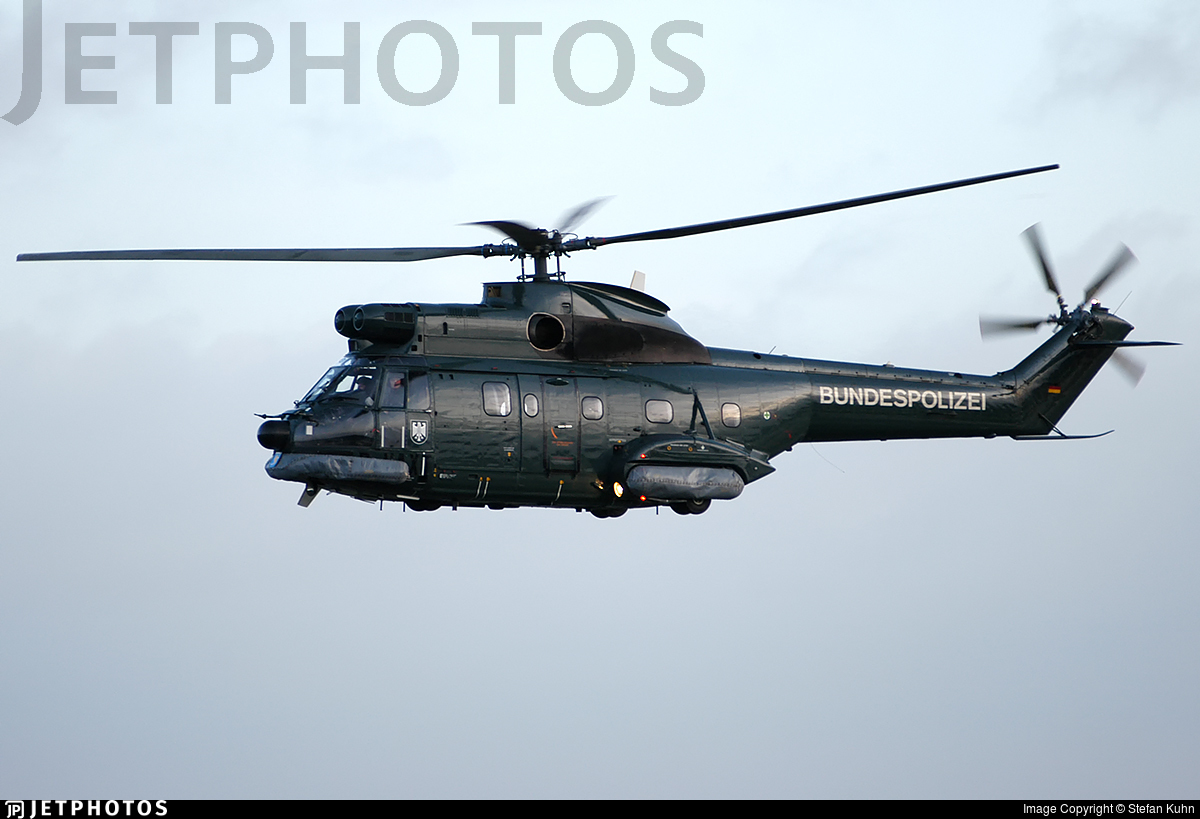 D-HAXT - Aérospatiale AS 332 Super Puma - Germany - Bundespolizei